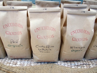The finest coffees from Uncommon Grounds.
