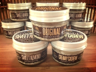 4 oz jars from Essentially Coconut