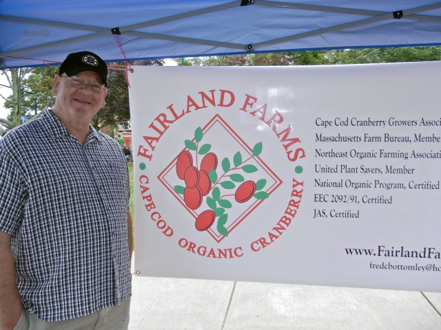 Mark from Fairland Farm Cranberries