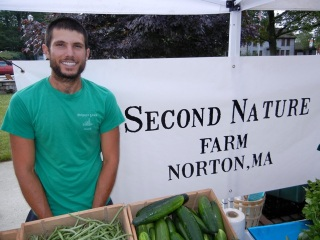 Adam Tedeschi from 2nd Nature Farm.